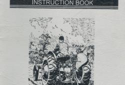 Ferguson Subsoiler Instruction Book