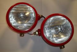 T20 Headlamps with Logo (pair)