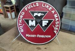 Massey Ferguson New Cast Sign