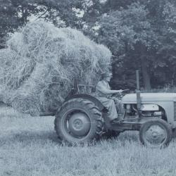 T20using a Hay sweep and carrying a full load.